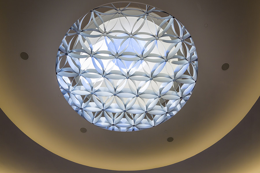 Chapel of Light Ceiling