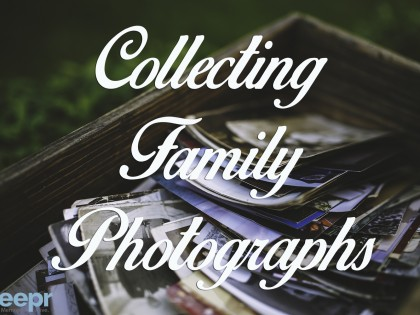 Collecting Family Photos After a Death