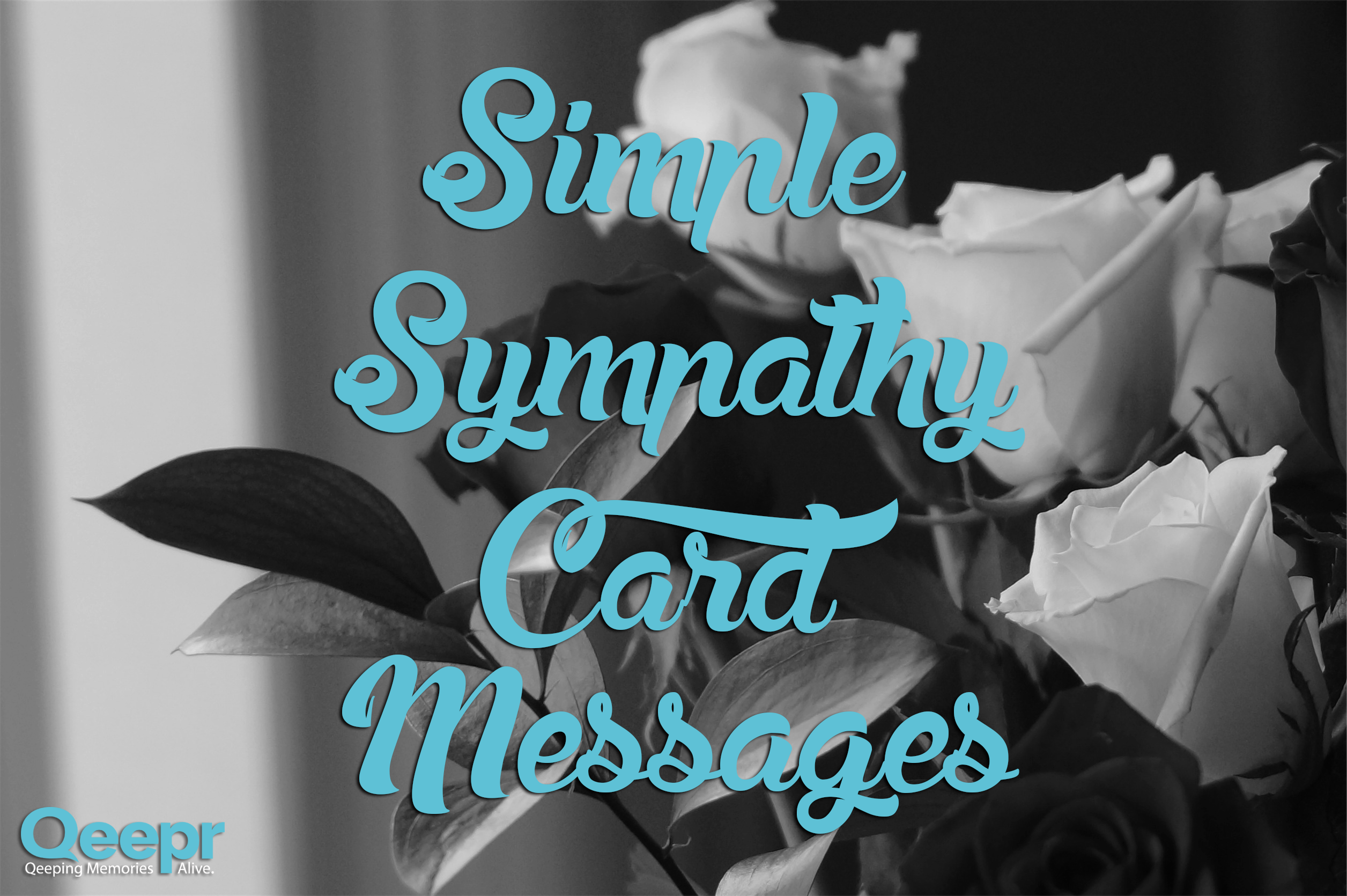 Simple sympathy card messages rivera funeral home izmirmasajfo