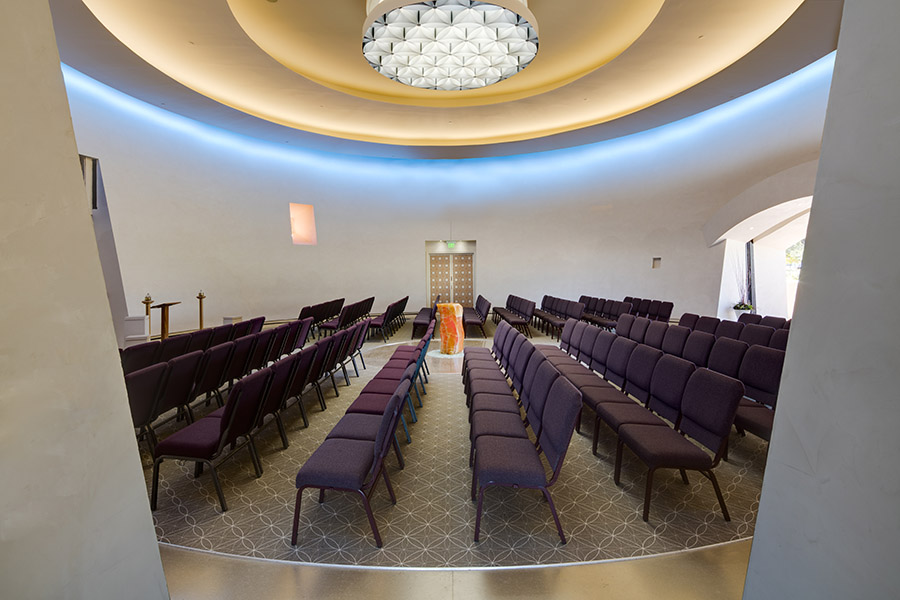 Chapel of Light Seating
