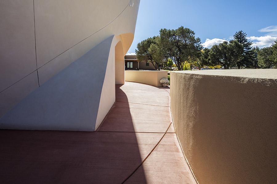 chapel of light patio