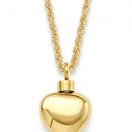 Small Gold Heart